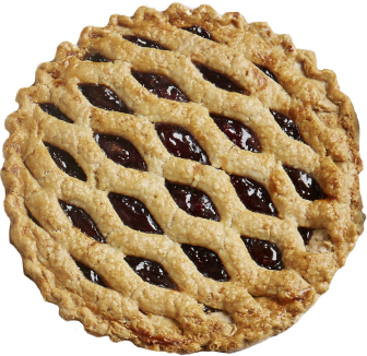 A holiday pie