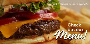 Tillamook Cheeseburger
