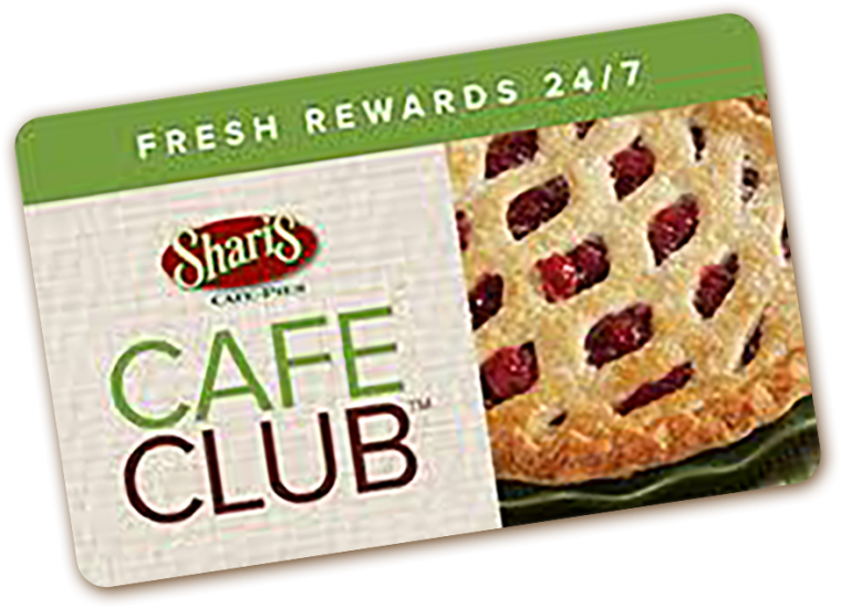 Cafe club card