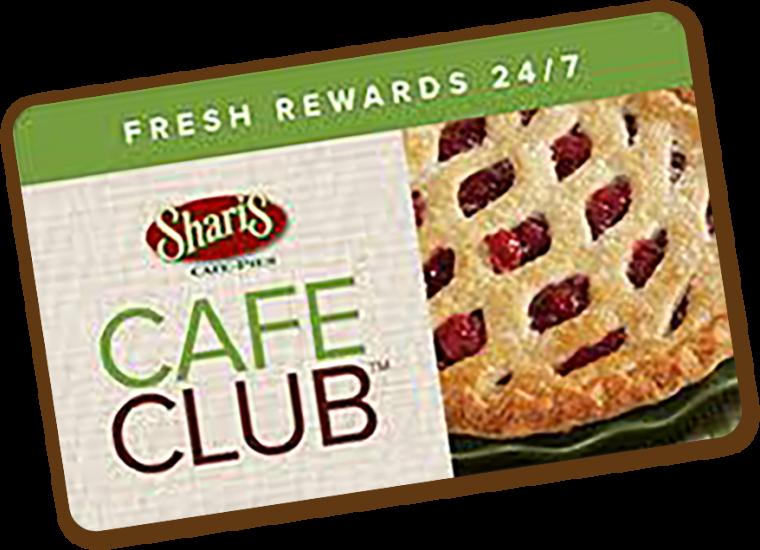 Cafe club card