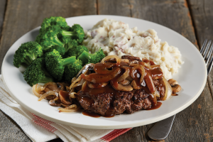 Chopped Steak Image