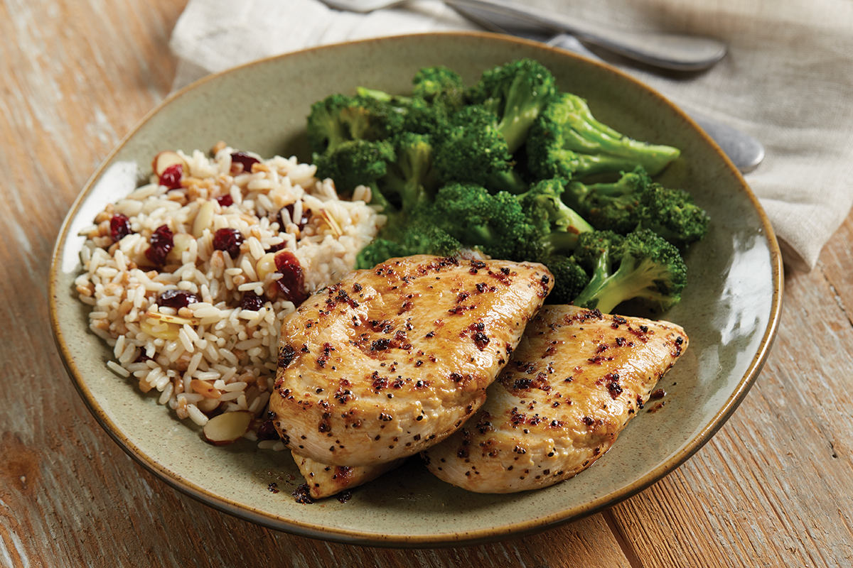 Grilled Lemon Chicken & Rice Image