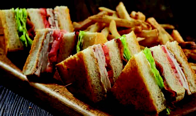 Traditional Club Sandwich Image